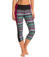 Body Glove Breathe Women's Ensenada Roam Hybrid Capri Legging