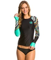 Body Glove Breathe Women's Maka Sleek Long Sleeve Rash Guard