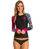 Body Glove Women's Ensenada Sleek Long Sleeve Rash Guard