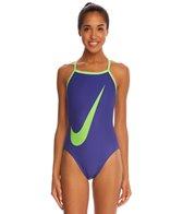 Nike Big Swoosh Lingerie Tank One Piece Swimsuit