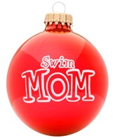 Bay Six Swim Mom Ornament