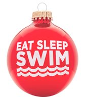 Bay Six Eat Sleep Swim Ornament