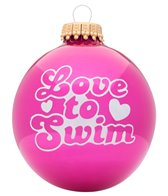 Bay Six Love to Swim Ornament
