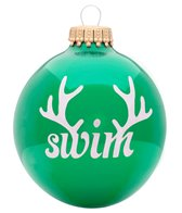 Bay Six Swim Reindeer Ornament