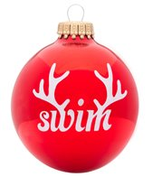Bay Six Swim Reindeer Ornament
