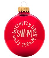 Bay Six Swim with Strokes Ornament