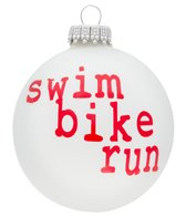 Bay Six Swim Bike Run Ornament