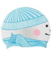 Sporti Snow Friend Silicone Swim Cap Jr.