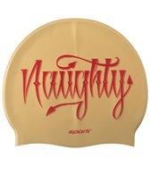 Sporti Naughty & Nice Silicone Swim Cap