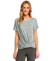 Marika Balance Collection Knot Front Yoga Shirt