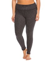 Marika Plus Size Reversible Flat Waist Yoga Leggings