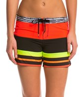 Hurley Phantom Printed Stripe 5 Beachrider Boardshort