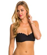 Kate Spade Marina Piccola Scalloped Underwire Bra Top