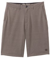 Billabong Men's Crossfire X Mini Plaid Hybrid Walkshort Boardshort