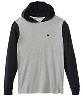 Billabong Men's Ocular Hooded Pullover Long Sleeve Tee