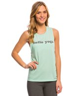 Yoga Rx Hello Yoga Muscle Tee