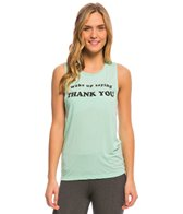 Yoga Rx Thank You Muscle Tee