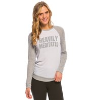 Yoga Rx Heavily Meditated Long Sleeve Workout Shirt
