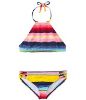 Billie Girls Girls' Fiesta Fun High Neck Crop Two Piece Set (4yrs-14yrs)
