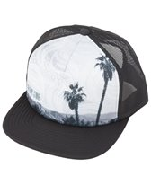Volcom Girl Talk Palm Trucker Hat