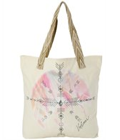 Volcom Surf Sand Shine Art Tote Bag