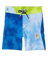 Volcom Boys' Party Pack Wash Elastic Waist Boardshort (2yrs-7yrs)