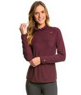 Mizuno Women's Breath Thermo Body Mapping Cowl L/S