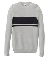 Quiksilver Men's Invasion Stripes Crew Sweater