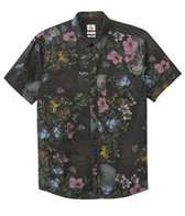 Quiksilver Men's Floral Storm S/S Shirt