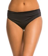 Kenneth Cole Shirr Thing Shirred Hipster Bikini Bottom