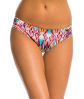 Kenneth Cole Ikat Get Enough Tab Sash Hipster Bikini Bottom