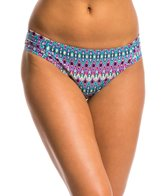Kenneth Cole Go For The Gold Tab Sash Hipster Bikini Bottom