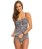 Kenneth Cole Got the Beat Twist Tankini Top