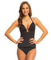 Kenneth Cole Strappy Hour Push Up Tankini Top