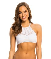 Kenneth Cole Deco the Distance High Neck Bikini Top