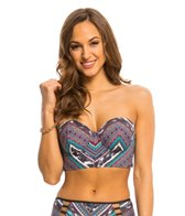 Kenneth Cole Tribal Wave Bandeau Bralette Top