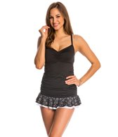 24th & Ocean Starry Nights Surplice Swim Dress