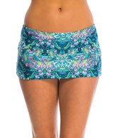 Kenneth Cole Reaction Scarfs on Deck Skirt Bikini Bottom