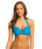 Kenneth Cole Reaction Suns Out Buns Out Underwire Halter Bikini Top (D-Cup)