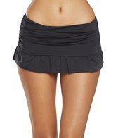 Kenneth Cole Reaction The Ruffle Shuffle Rouched Swim Skirt