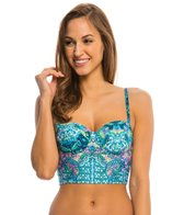 Kenneth Cole Reaction Scarfs on Deck Underwire Bustier Top