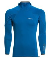 Xcel Men's Drylock Hydrophobic Long Sleeve Pullover Hooded Rashguard