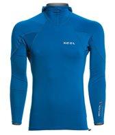 Xcel Men's Drylock Hydrophobic Long Sleeve Pullover Hooded Rashguard
