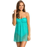 Nautica Swimwear Absolutely Shore Bandeau Swimdress