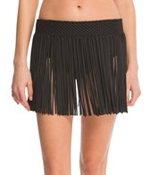 Athena Swimwear Cabana Fringe Cover Up Skirt
