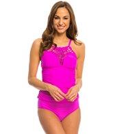 Athena Swimwear Cabana Solids High Neck Tankini Top