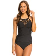 Athena Swimwear Cabana Solids High Neck Tankini Top