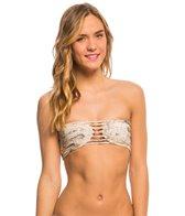 Boys + Arrows Swimwear Baja Truvy The Troublemaker Bandeau Bikini Top