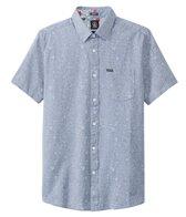 Volcom Men's Don Pendleton Stone Shortsleeve Woven Shirt