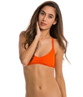 Volcom Swimwear Simply Solid V Neck Bikini Top